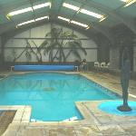 pool just wonderful - really warm water- bliss
