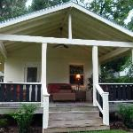 bungalow with large porch