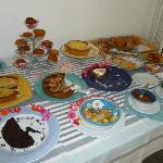 Colazione a buffet Hotel Maree ( torte, dolci e marmellate e macedonia) rigorosamente fatte in c