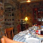 sala per colazione a Villa delenda Yerevan