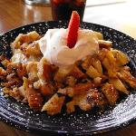 Amaretto Bread Pudding dessert