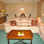 1 bedroom suite living area