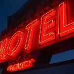 Proper motel! proper neon sign!