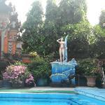 Nice garden in Massa Inn