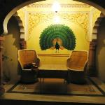 A place for relaxation in Anuraag villa