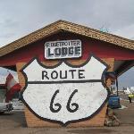 Man darf sich auf der Route 66 noch verewigen