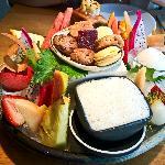 Dessert platter ...