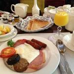 "Fabulous ""traditional"" Irish breakfast"