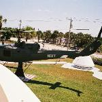 Navy Helicopter on the grounds of the UDT/Seal Museum