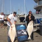 PROOF IS IN THE PUDDING AS THEY SAY 80lb & 40lb Halibut