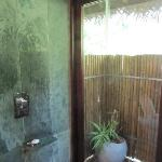 Our gorgeous tropical shower room