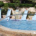 Children's pool park playa bara