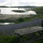Our lakeside location with 2mile path, paddling and picnic & fishing areas