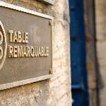 A remarkable table indeed!
