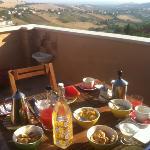 colazione e panorama