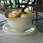 Fruit bowl at Pallapa's