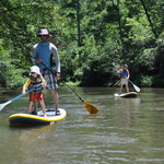Stand-up paddling is