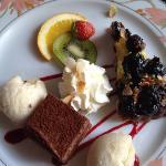 farandole de desserts
