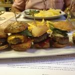 Mini hamburgers voor wie niet kan kiezen
