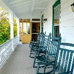 Catch the ocean breeze on the upstairs porch.