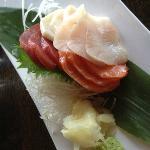 sashimi at Oishi