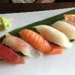 Sushi at Oishi