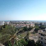 Vista Paphos dalla camera