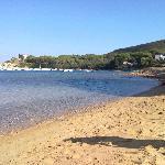 Spiaggia raggiungibile dall'Hotel Brigantino