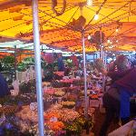 A Grot Markt flower stall