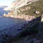 view while walking