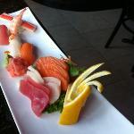 sashimi and sushi (chefs choice) delicious