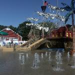 the Pirate Ship Spray Yard!!!!