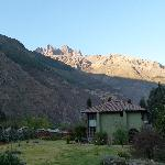 The Green House and the Sacred Valley mountains