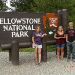 going into Yellowstone