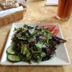 One of my favorites - a totally green salad!