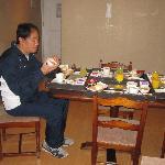 comedor, cómodo y buen desayuno