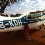 Our little chartered plane out of Madikwe to Jo'burg