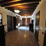 Common Hallway where are rooms were located