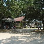 Outside view of Lone Star Barbecue