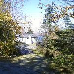 Secret Pond Lodge, Wilson Pond Camps, October 2011.