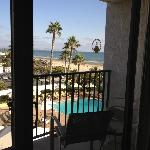 4th floor partial ocean view (you can catch the dolphins and Navy Seals going by in the mornings