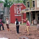 Wild west reenactment