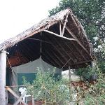 My tent at Kichakani