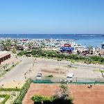 Room's window view - Suez Canal