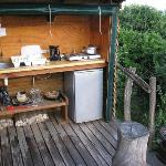 Bush cabin braai equipment