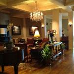 River Inn Lobby with Piano