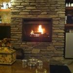 sitting in front of the roaring fire... Bliss