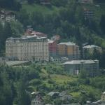 The hotel from across the valley