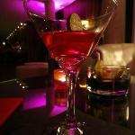 Cocktail au bar du rdc