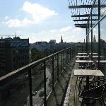 Berlino - Come Inn Berlin Kurfuerstendamm Opera - Veranda della sala per la colazione